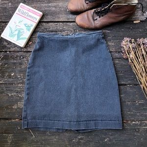 Dresses & Skirts - Vintage | charcoal grey high waisted skirt